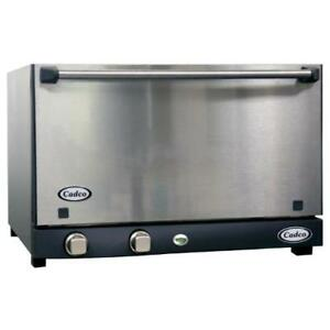 Cadco Ov 013ss Half Size Catering Convection Oven