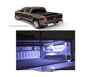 Undercover Flex 5 8 Bed Cover Access 39 Strip Light For 08 13 Sierra 1500