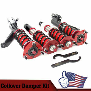 Adjust Height And Soft Coilover Coil Struts Suspension For Honda Civic 01 05
