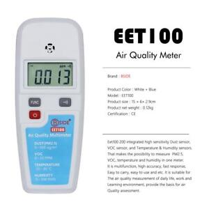 Formaldehyde Detector Air Quality Monitoring Tester Temperature Humidity Meter