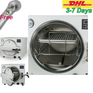 18l Medical Dental Autoclave Steam Sterilizer Disinfect Machine For Instrument