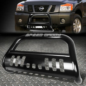 For 05 16 Nissan Frontier pathfinder Black 3 Bull Bar Push Bumper Grille Guard