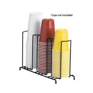 Dispense rite Wr 3 3 section Wire Cup lid Dispenser