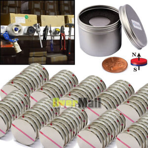 Lots N52 Strong Powerful Round 1 26 X 1 16 Magnets Disc Rare Earth Neodymium