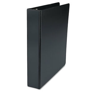 Universal Black D ring Vinyl Binder pack Of 3