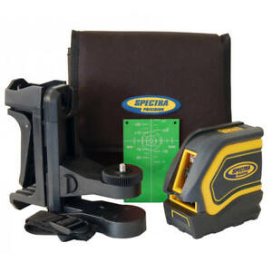 Spectra Lt20g 2 beam Self leveling Green Beam Cross Line Laser Level Kit