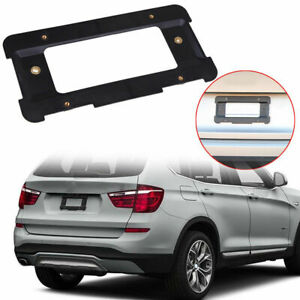 For Range Rover Sport Rear License Plate Mount Frame Tag Holder Bumper Bracket
