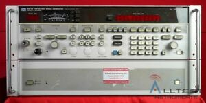Hp Agilent Keysight 8673d 0 05 To 26 5ghz Synthesized Signal Generator