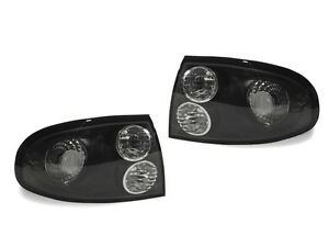 Depo Pair Of Black clear Rear Tail Lights For 2004 2006 Pontiac Gto Monaro V8