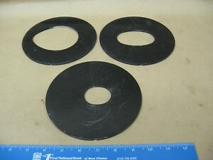 3 Throat Plates For Jet Model Jovs 10 Oscillating Spindle Sander