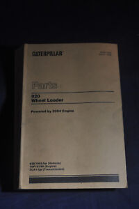 920 Wheel Loader Powered By 3304 Engine Caterpillar Parts Catalog