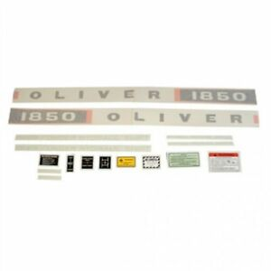 Decal Set Vinyl 1850 Diesel Oliver 1850
