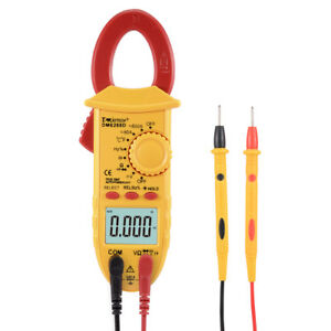Mini Multimeter Ac Dc Ammeter Voltage Acv Dcv Capacitance Clamp Meter