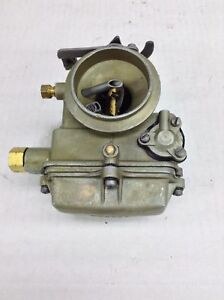 Holley 1904 Carburetor 1958 1959 Ford Edsel 223 Engines Manual Trans