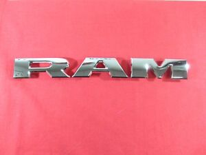 2019 2020 Dodge Ram Chrome Ram Grille Nameplate New Oem Mopar