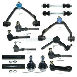 New 16pc Front Suspension Steering Kit For 97 2003 Ford F150 F250 Expedition 4wd