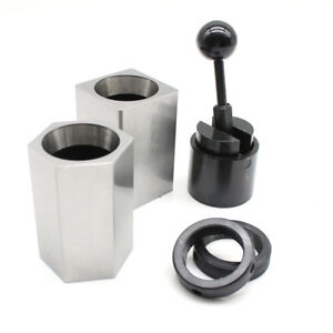 5c Collet Block Chuck Set High Hardness square Hex Rings Closer Holder Lathe Ups