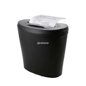 18l 10 sheet Cross Cut Paper Cd Credit Card Shredder With Caster And B98b
