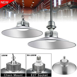 Led High Bay Light 50w 70w 100w 150w Low Bay Factory Warehouse Shop Lighting