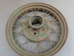 Model A Ford 19 Wire Wheel Mt 1968
