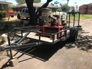 Hot Water Pressure Washer 3100 Psi Hotsy Burner With Trailer