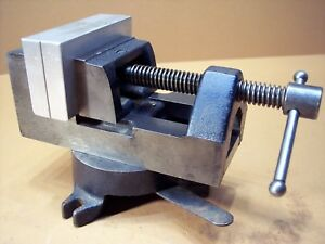 Stanley No 992a Machinist Drill Press Vise With Swivel Base