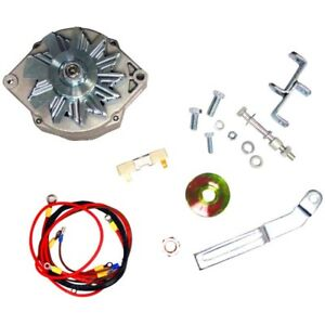 Alternator Conversion Kit Fits Massey Ferguson Mf Tractor To20 6 To 12 Volt