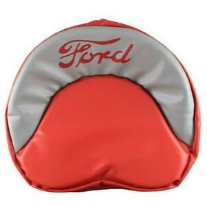 Ford Tractor Tie Pan Seat Cover red Grey 8n 2n 9n 600 800