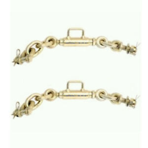 Three Point Hitch Sway Chains pair Yanmar Iseki Tractor