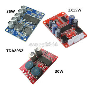 15w 30w 35w Digital Tda8932 Amplifier Board Mono Amplifier Module Low Power