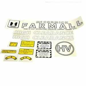 Decal Set International H