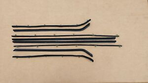 New 63 65 Dodge 330 440 Coronet Sedan Catwhisker Window Sweep Belt Weatherstrip