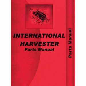 Parts Manual Super W6 International Super W6 Super W6