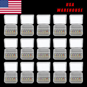 15pack Dental Endo Super Niti Files Rotary Root Canal Engine Use Large Taper Usa