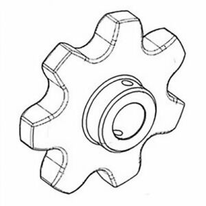 Raddle Sprocket For Gleaner F3 F K G N6 K2 F2 71311148