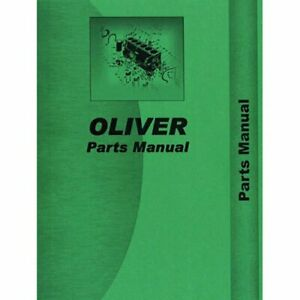 Parts Manual 1850 Oliver 1850 1850