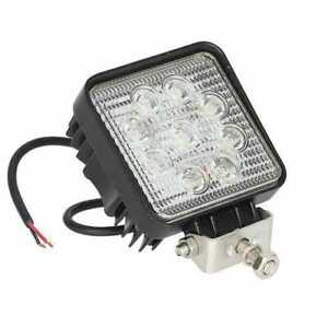 Led Work Light 27w Square Spot