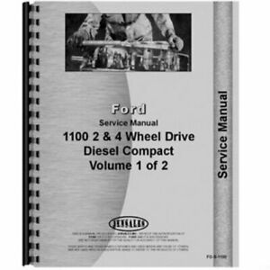 Service Manual Fo s 1100 Ford 1100