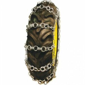 Tractor Tire Chains Double Ring 12 4 X 24 Sold In Pairs
