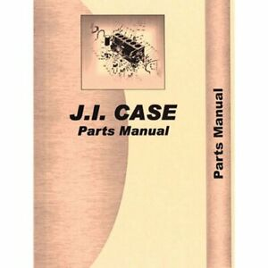 Parts Manual 580bck Case 580b 580b