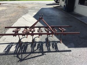 Pittsburgh 3 Point Hitch 7 Shank Tillage Tool