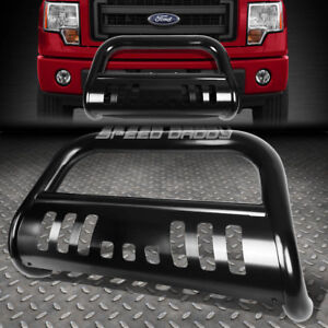 For 97 04 Ford F150 F250 Lightduty Expedition Black 3 Bull Bar Push Bumper Guard