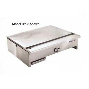 Imperial Ity 60 60 Teppan Yaki Griddle Japanese Grill