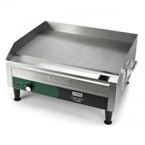 Waring Wgr240x 24 In X 16 In Countertop Electric Griddle 240v