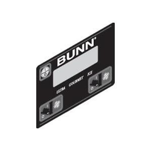 Bunn Ultra Membrane Switch Black 32126 1004