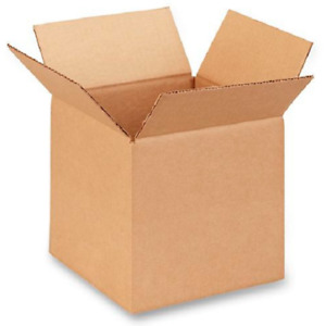 25 8x8x8 Cardboard Paper Boxes Mailing Packing Shipping Box Corrugated Carton