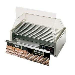 Star 50scbd Grill max Pro 50 Hot Dog Roller Grill W Bun Drawer