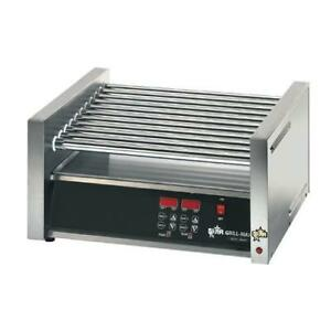 Star 75sce Grill max Pro Electronic 75 Hot Dog Roller Grill
