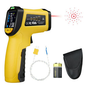 Ir Infrared Laser Thermometer Digital Temperature Thermometer Gun 50 c 750 c