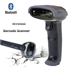 New Wifi Portable Wireless Bluetooth Barcode Label Scanner For Pc Ios Android